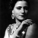 Sulochana, star of Imperial's 1928 'Anarkali'.