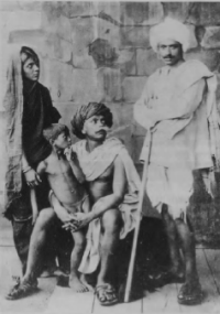 "[Image caption: Saukari Pash (""The Indian Shylock"", 1925) was directed by Baburao Painter, who had founded the Marhastra Film Studios at Kolhapur in 1919. The Indian director R. V. Shantaram played a starring role in the film.]"