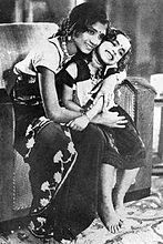 K.R. Chellam and Baby Saroja in Balayogini, source: http://en.wikipedia.org/wiki/Balayogini#mediaviewer/File:Balayogini_1937film_2.jpg Last accessed May 2014